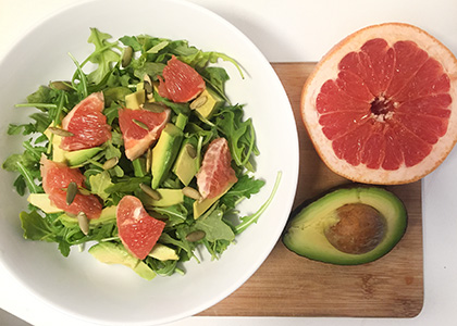 Grapefruit-Salad